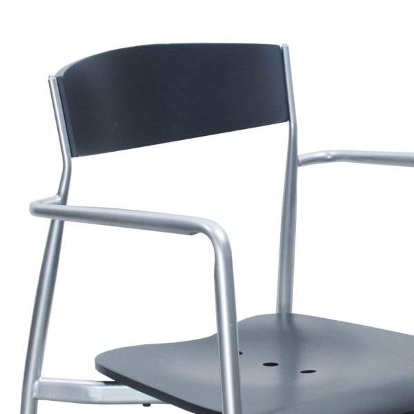 Contemporary Used Stacking Chair Gray National Office