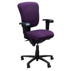Purple Task Chair Teal Desk Ergonomic Comfort Design Vive Lite 1300js Used