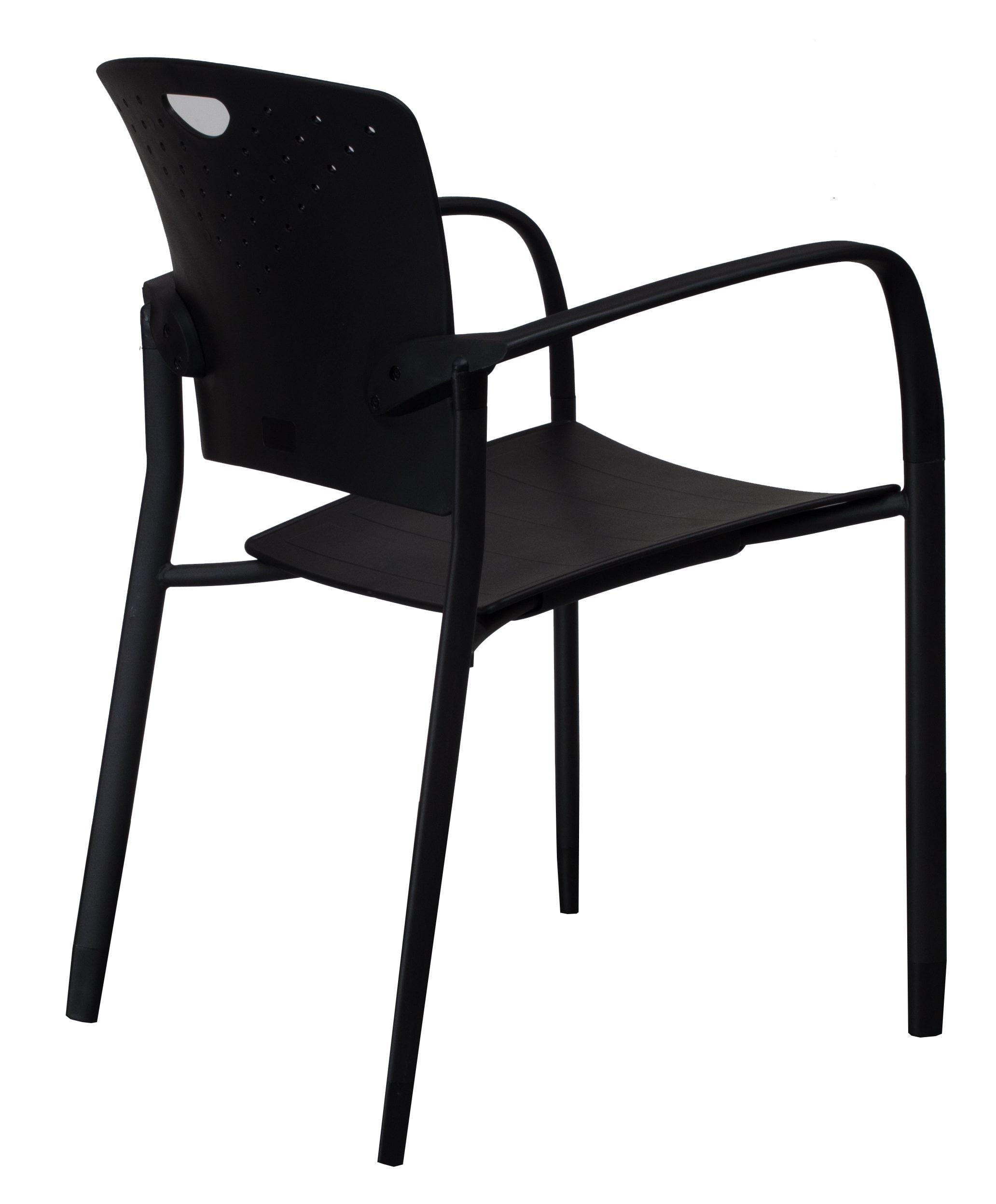 ergonomic chair brand leather wing uk go new stack black national office