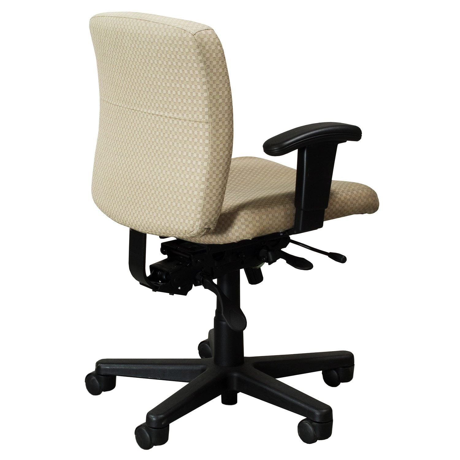 yellow office chair protector covers for recliners harter colleague used task checker