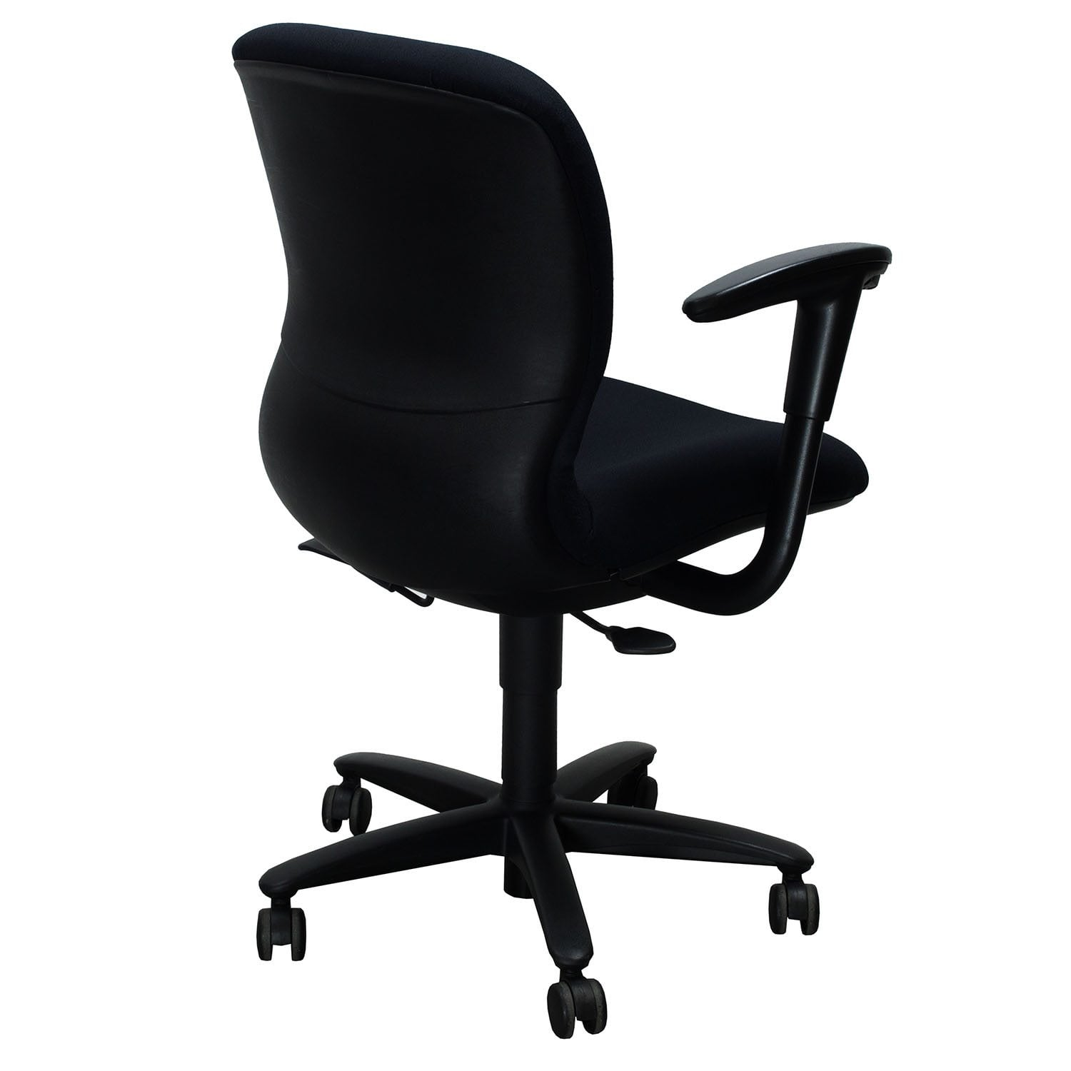 used desk chairs chair stand for sale haworth improv task black national