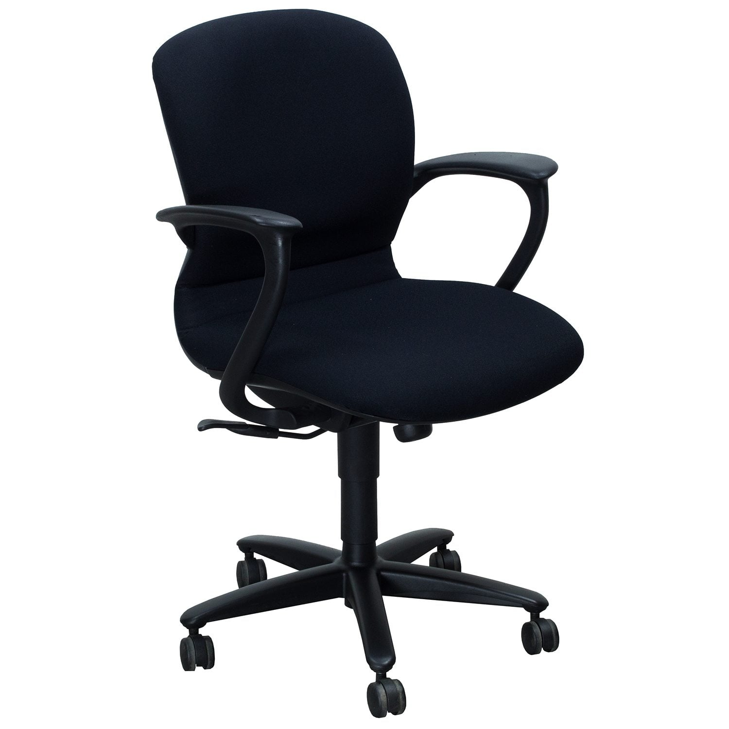 Haworth Improv Desk Used Conference Chair Black