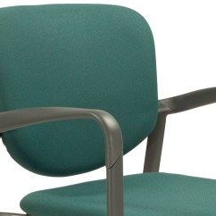 Aqua Desk Chair Boon Flair Pedestal High Gray Green Haworth Improv Used Stack National Office