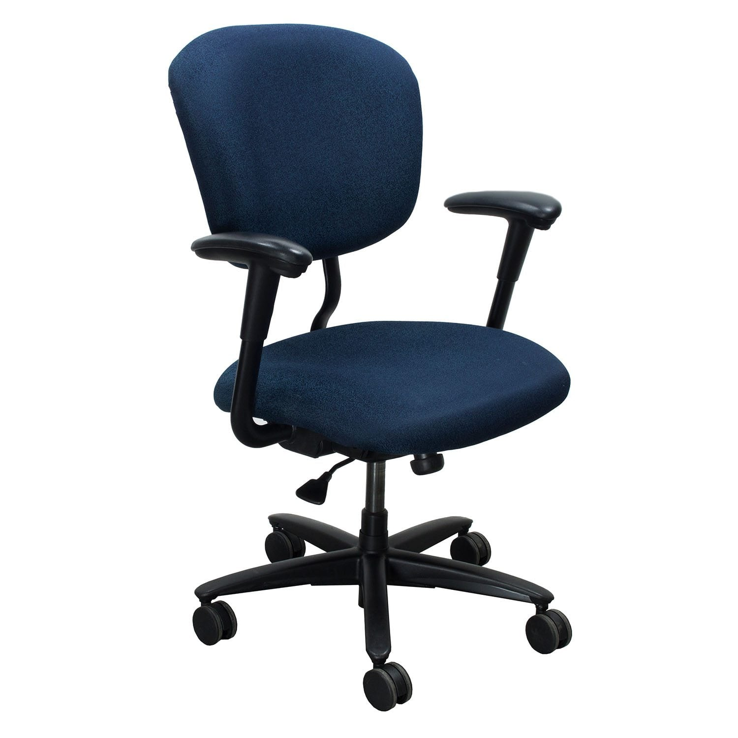 xl desk chair diy thanksgiving covers haworth improv used task blue speckle national