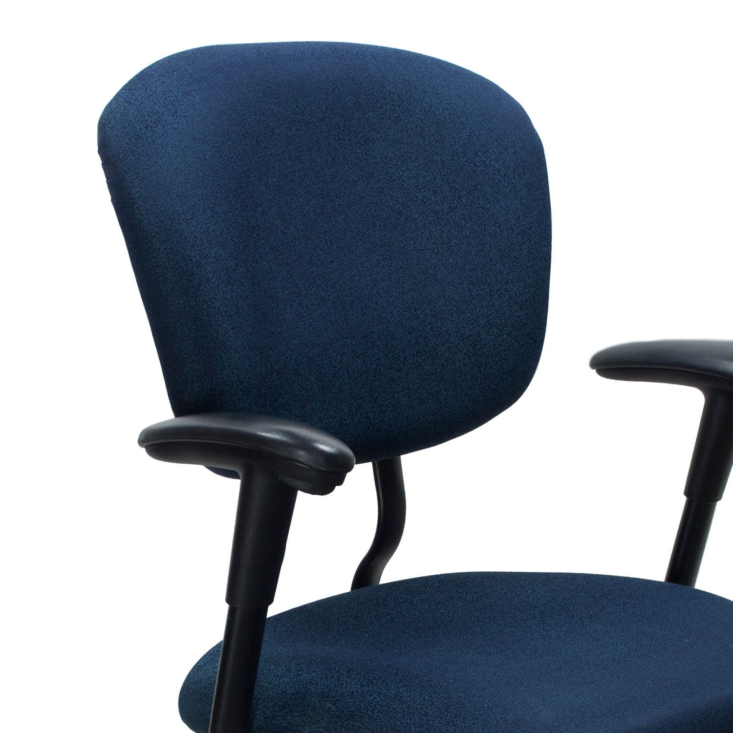 xl desk chair country french chairs haworth improv used task blue speckle national