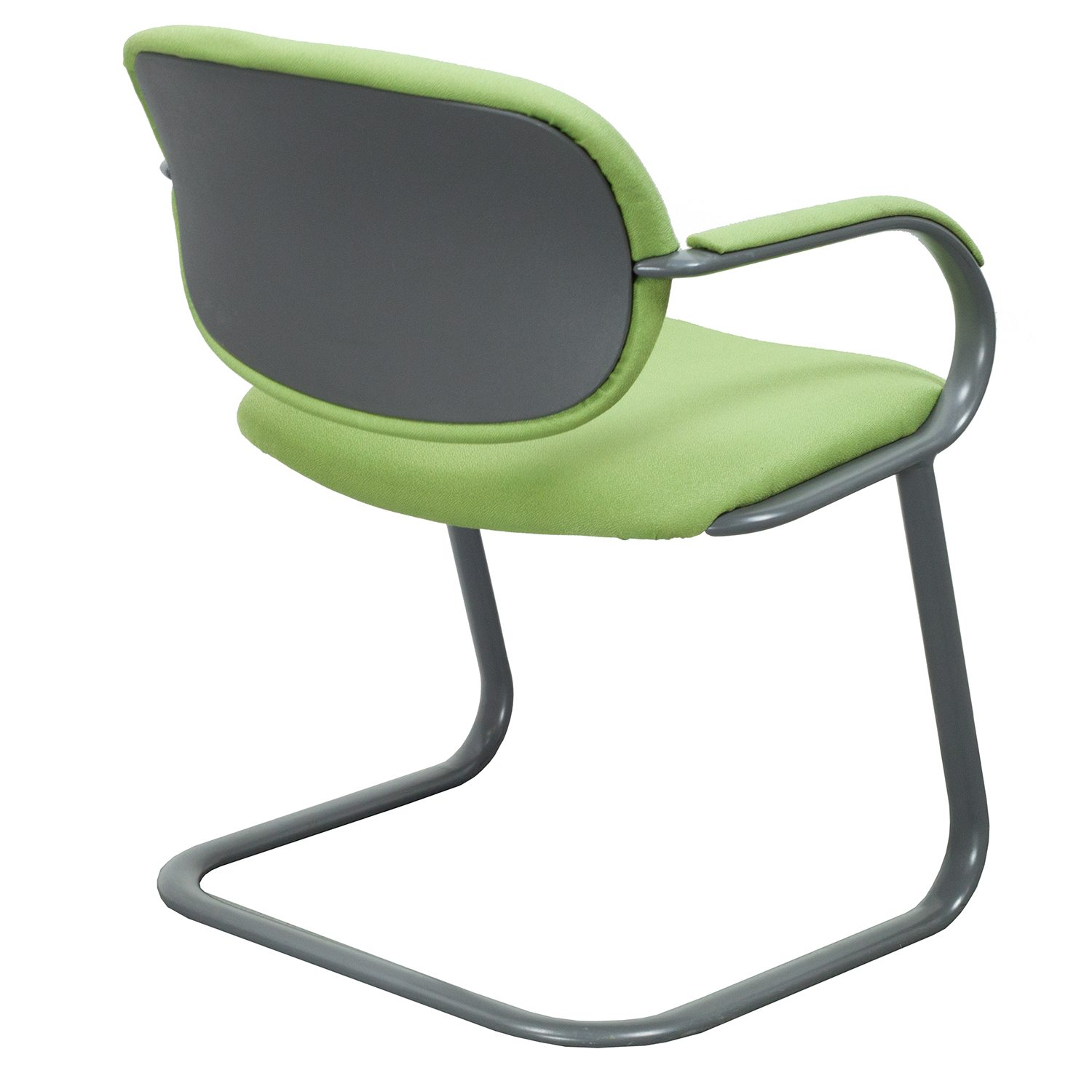 Lime Green Chair Haworth Reupholstered Used Side Chair Lime Green