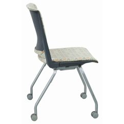 Office Chair Very Hanging Indoor Haworth Used Stack Dark Gray National