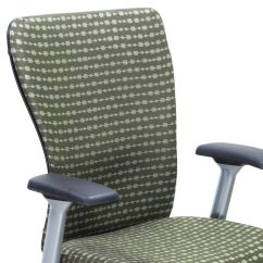 Haworth Zody Chair Music Posture Used Task Green National Office