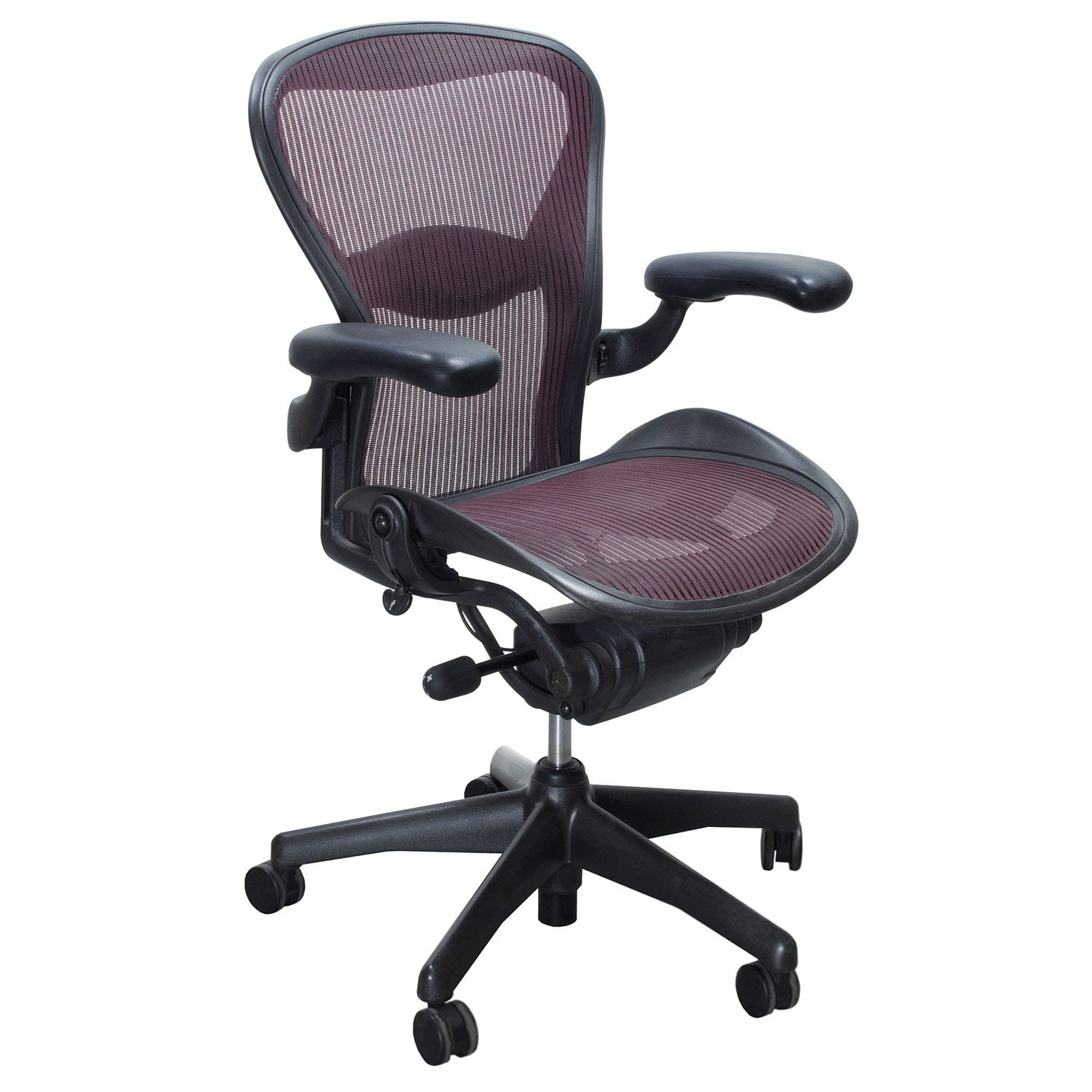 office chair alternatives unusual chairs and sofas herman miller aeron used size b task garnet