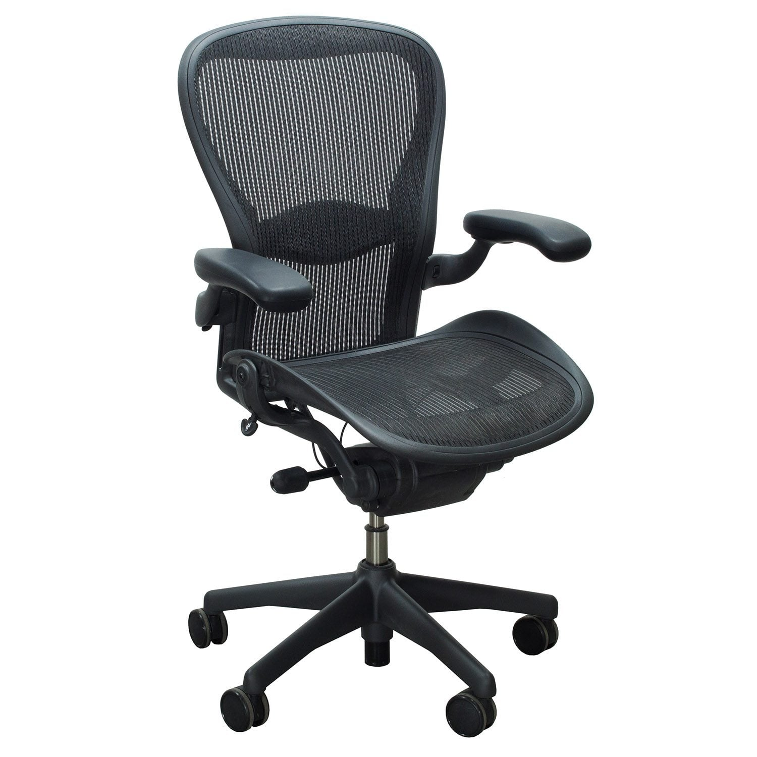 aeron chair sizes lounge with canopy herman miller used size c task carbon