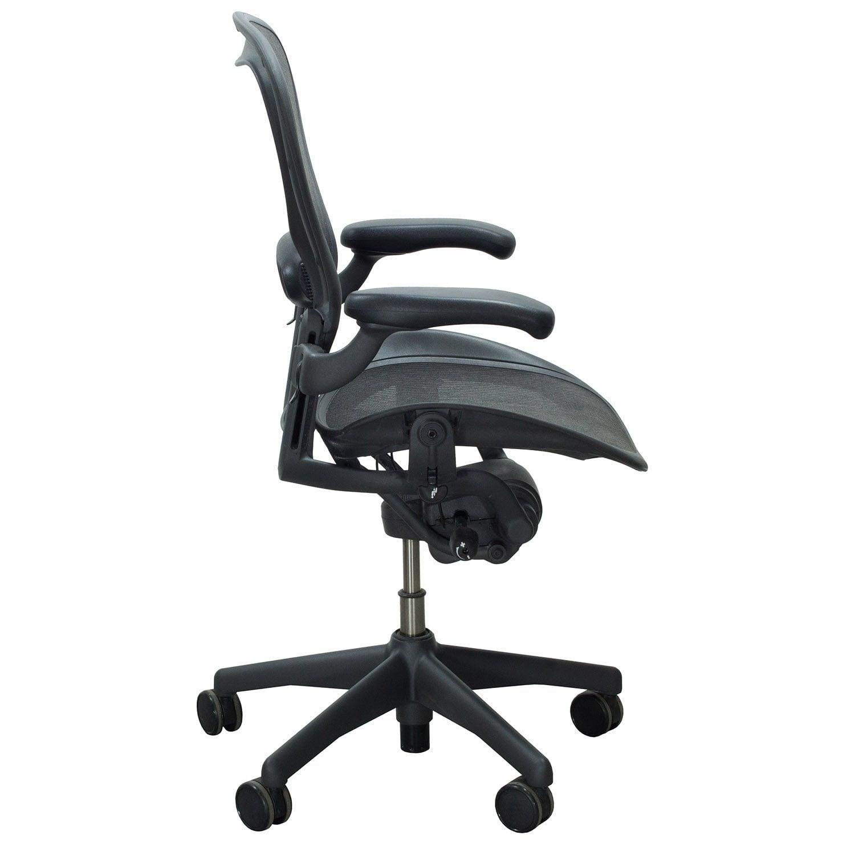 white aeron chair booster seat herman miller used size c task carbon