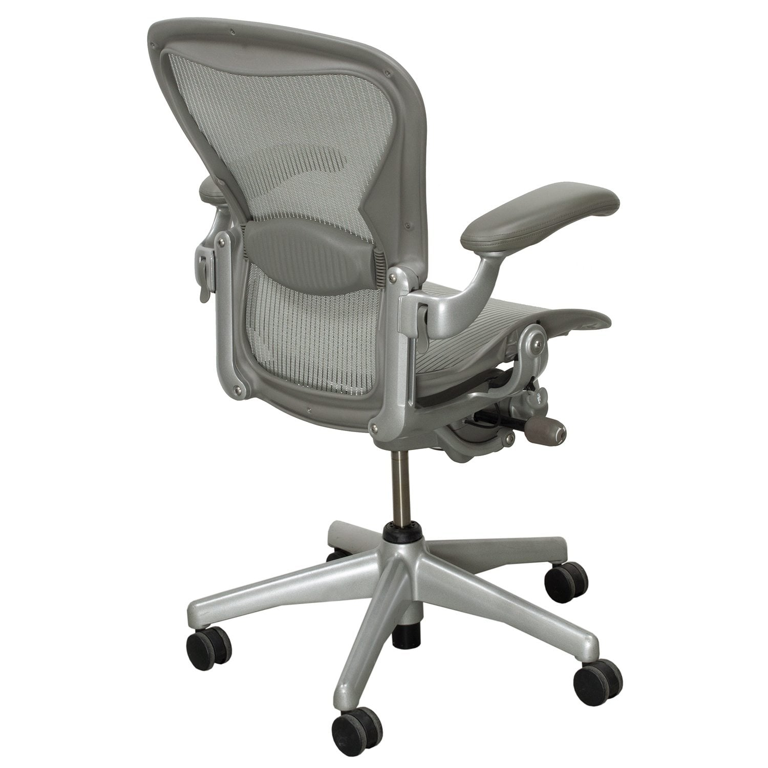 aeron chair accessories monoblock covers for rent herman miller used size b full function task