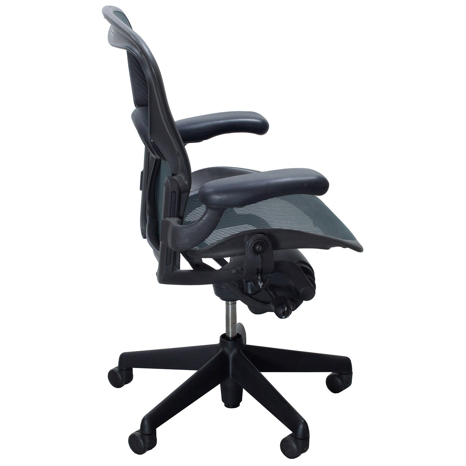 aeron chair accessories wombat herman miller used size b task jade