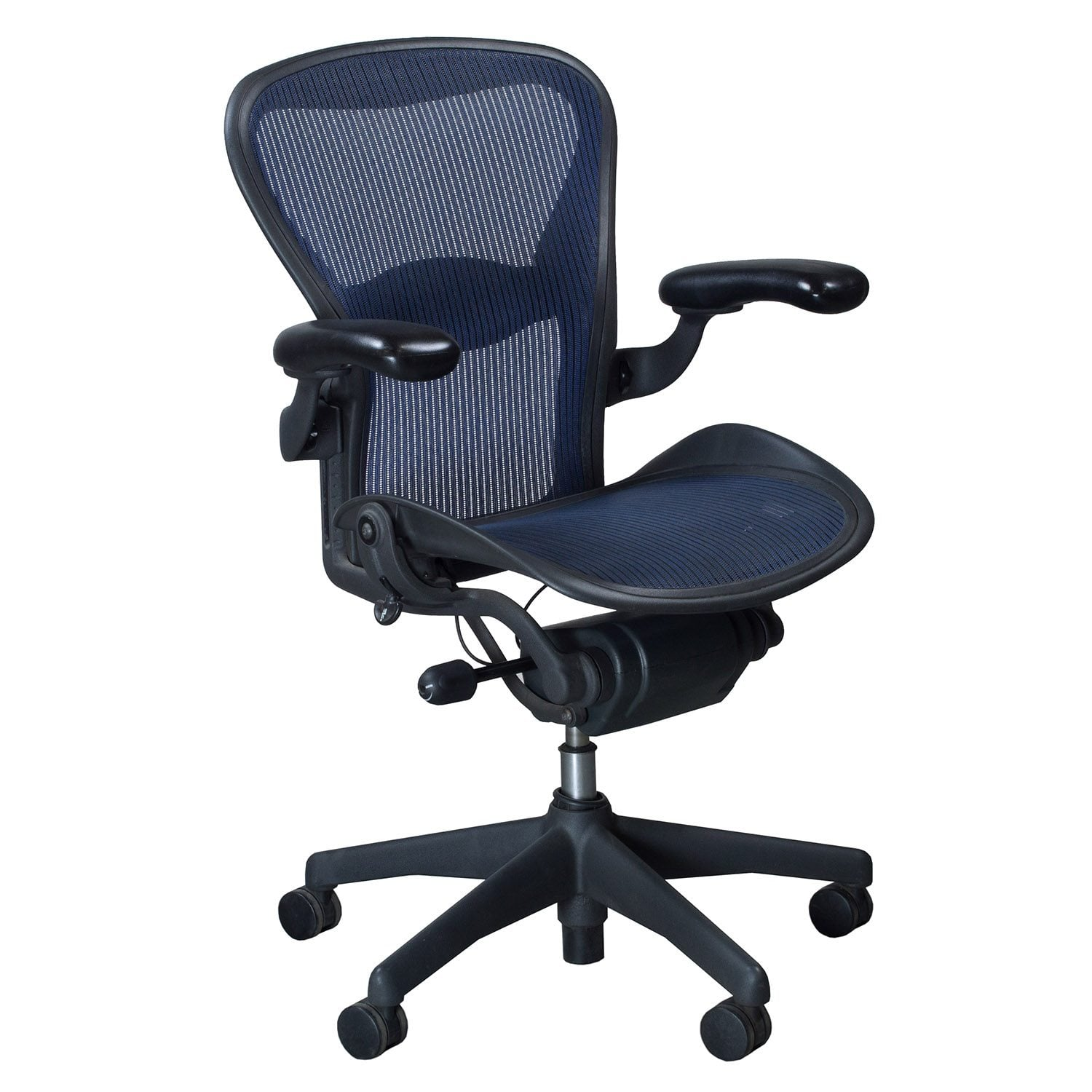 aeron chair accessories unique rocking chairs herman miller used size b task cobalt