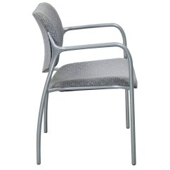 Gray Side Chair Cover Hire Harlow Herman Miller Used Aside Pattern