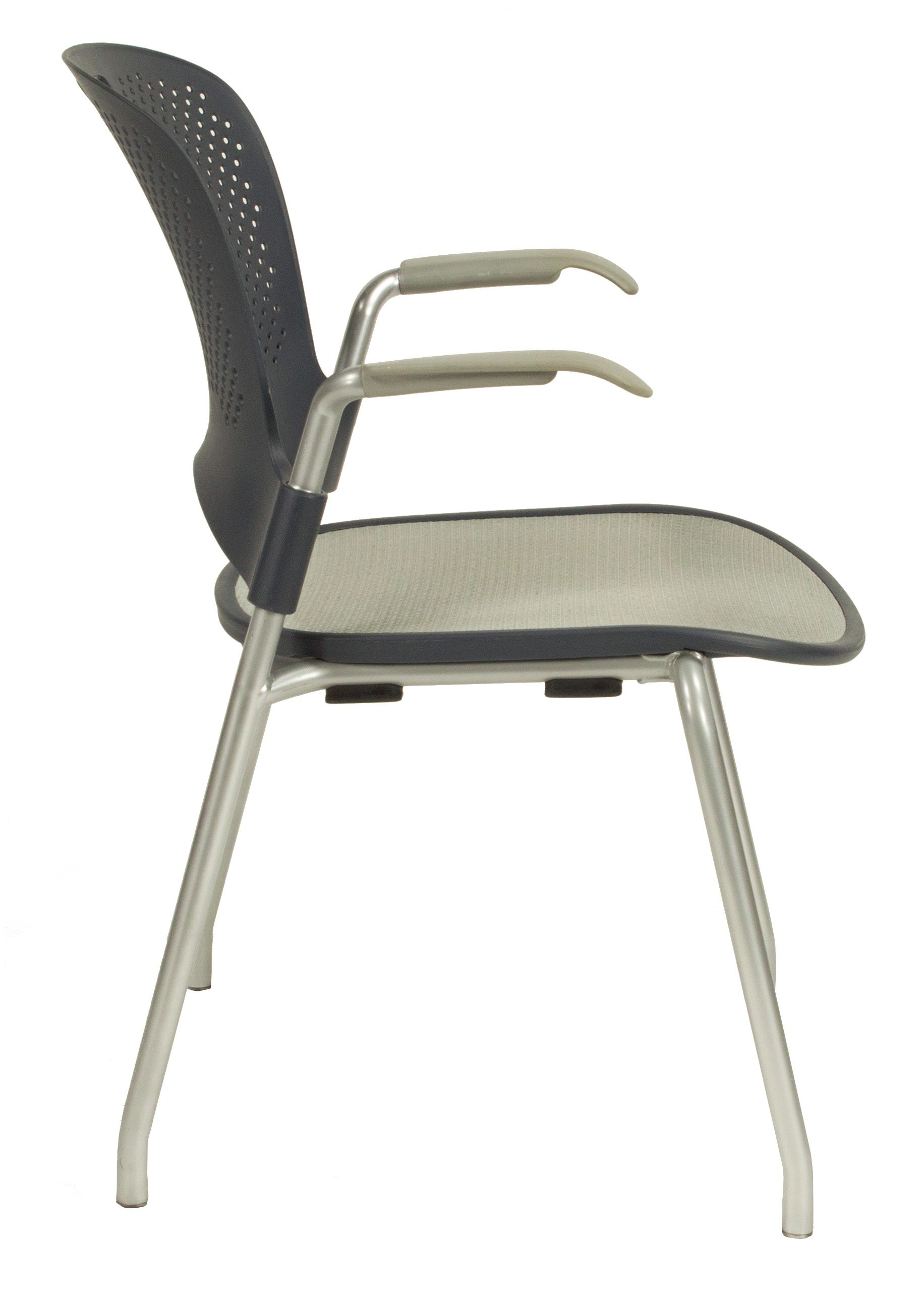 herman miller stacking chairs rocking chair craigslist caper used gray national