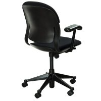 Herman Miller Equa Mid Back Used Task Chair, Black ...