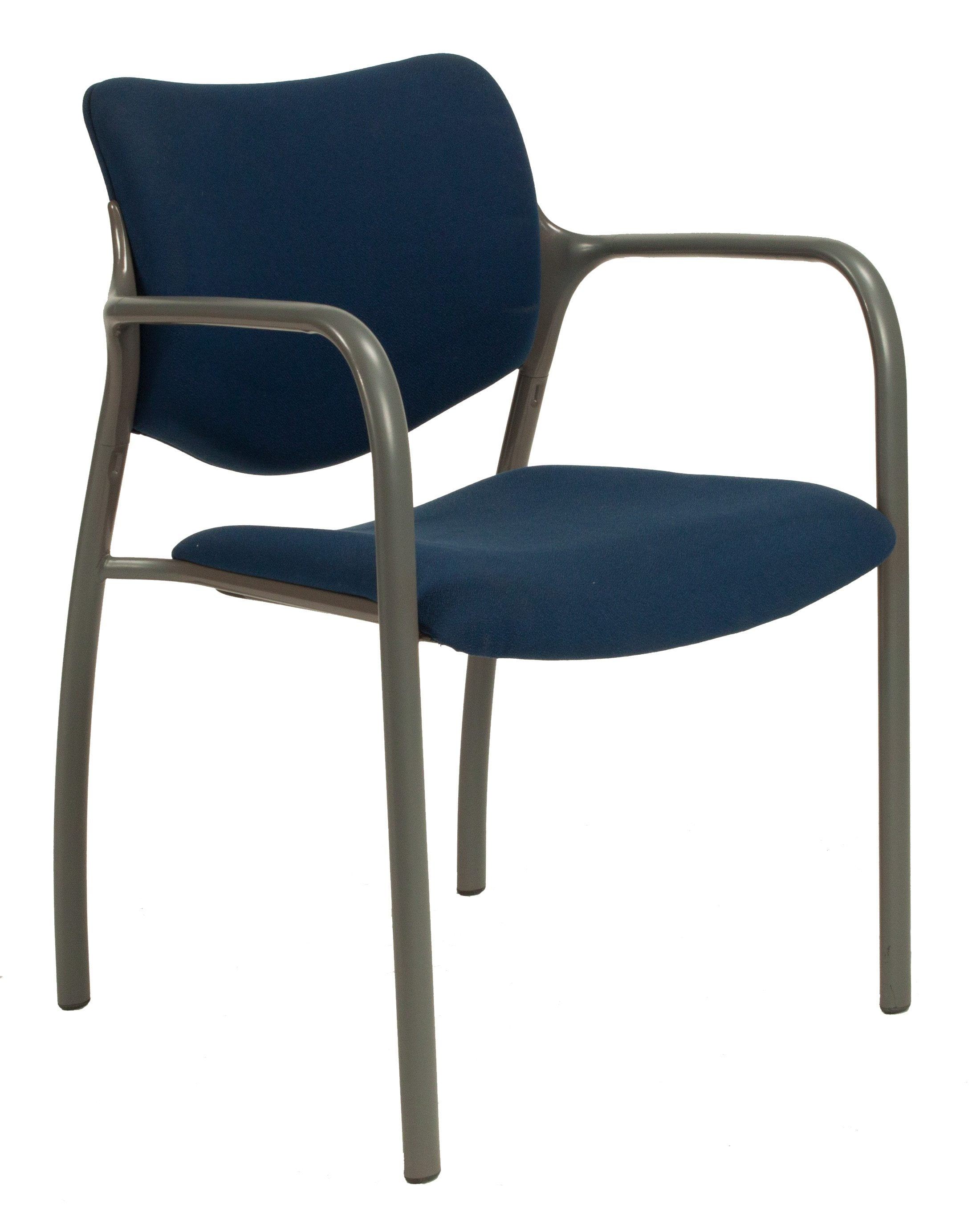 herman miller stacking chairs table and garden set used aside chair blue national office