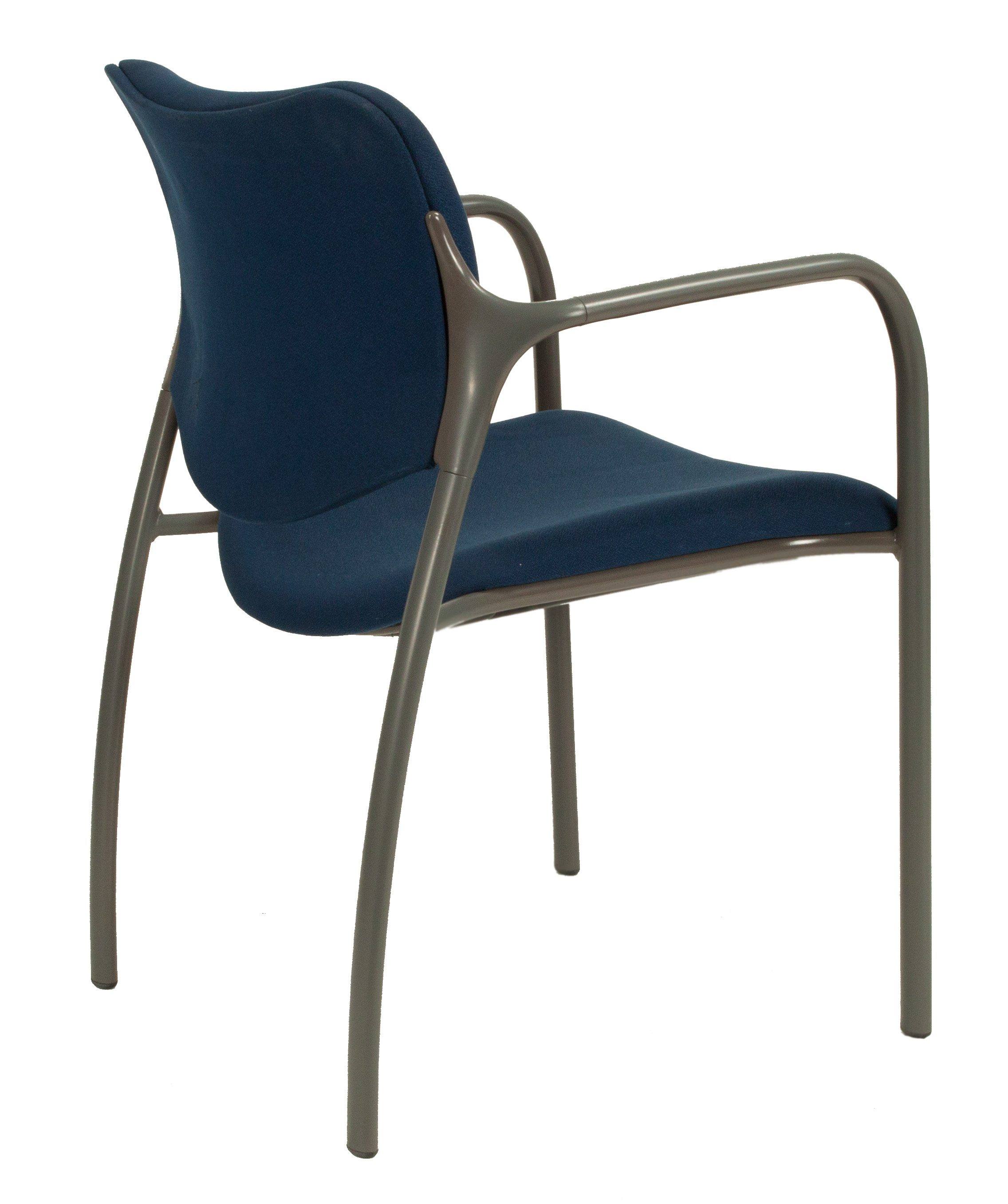 herman miller stacking chairs water ski chair plans used aside blue national
