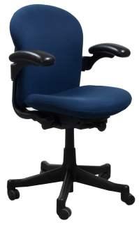 Herman Miller Reaction Used Task Chair, Blue | National ...