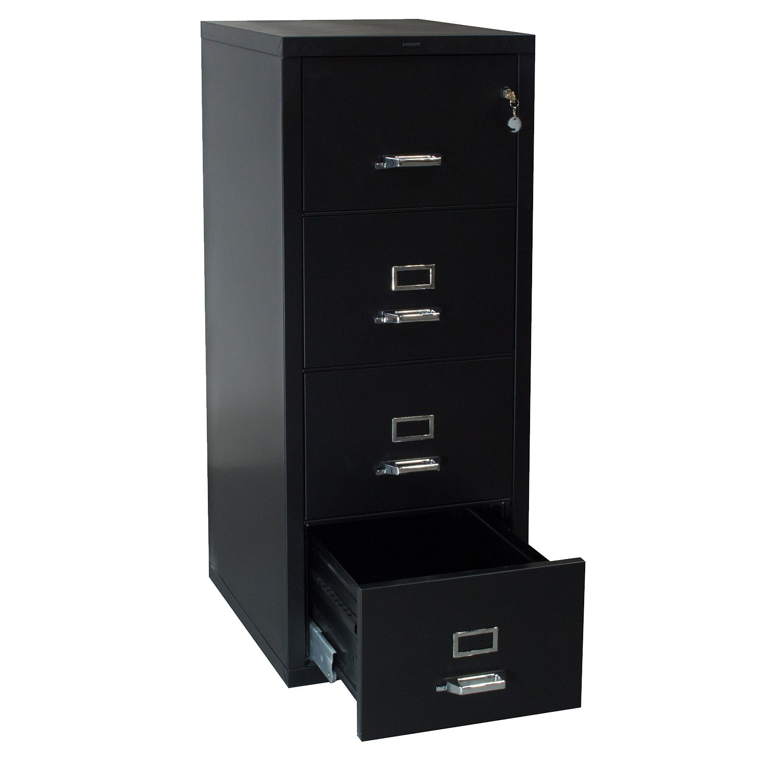 Hon Used Legal Sized Vertical Fire File Cabinet Black