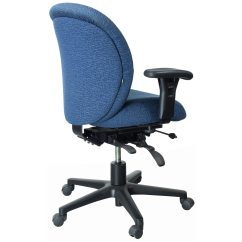 Hon Desk Chairs Modway Office Chair Unanimous 7600 Series Used Mid Back Task Blue