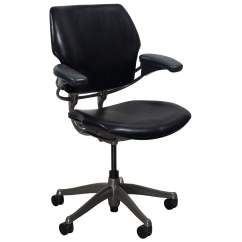 Humanscale Liberty Office Chair Review Cheap Kitchen Tables And Chairs Freedom Leather Used Task Black