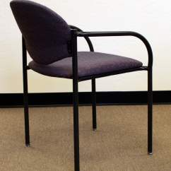 Purple Upholstered Dining Chairs Pottery Barn Everyday Chair Nightingale Used Stack