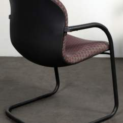 Knoll Rpm Chair Floor Protector Pads Used Side Magenta National Office
