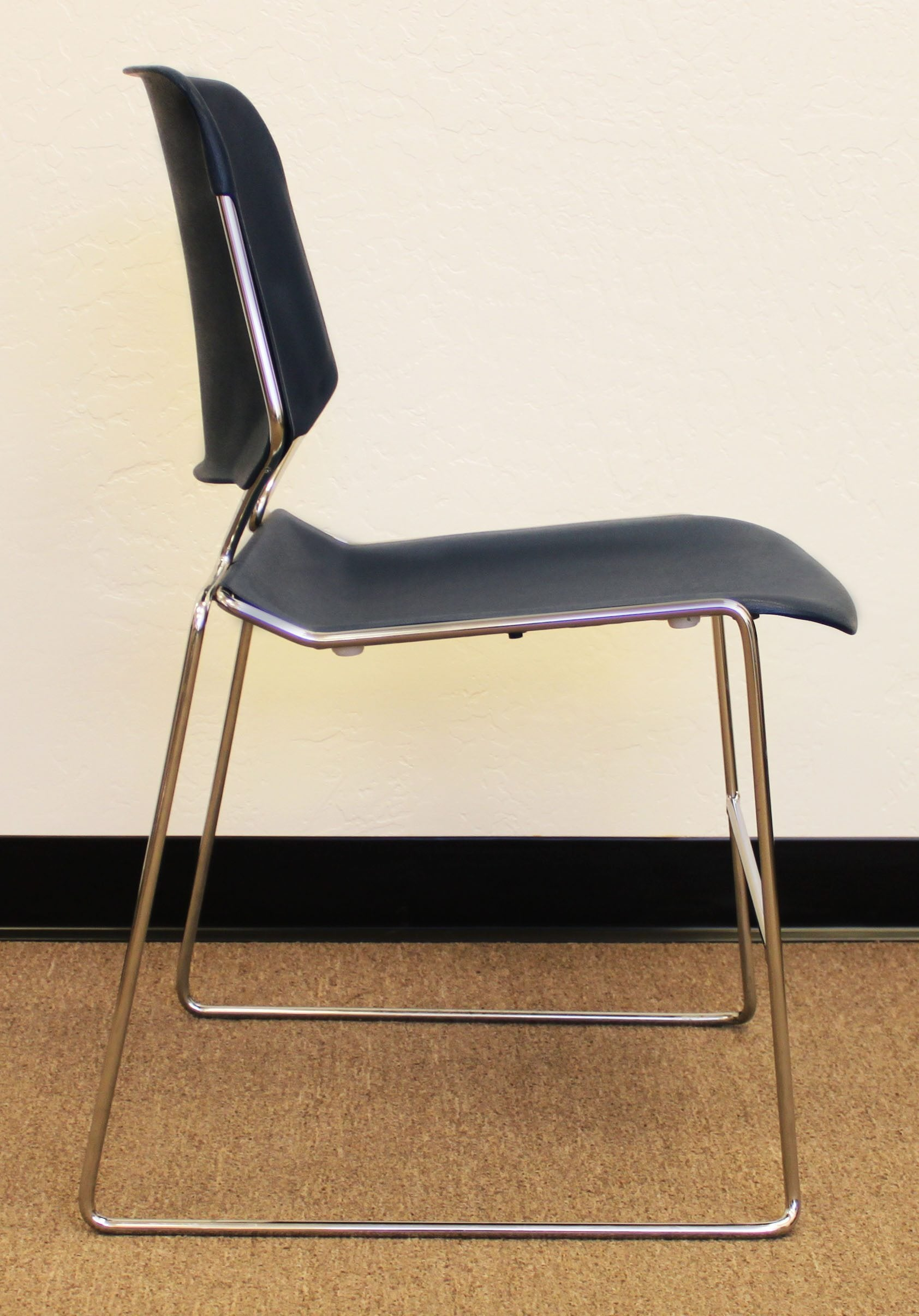 krueger folding chairs fishing chair korum matrix used stack blue national office