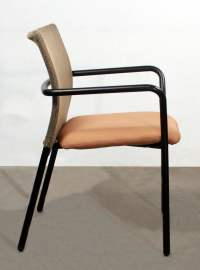 Steelcase Jersey Used Guest Stack Chair, Tan | National ...