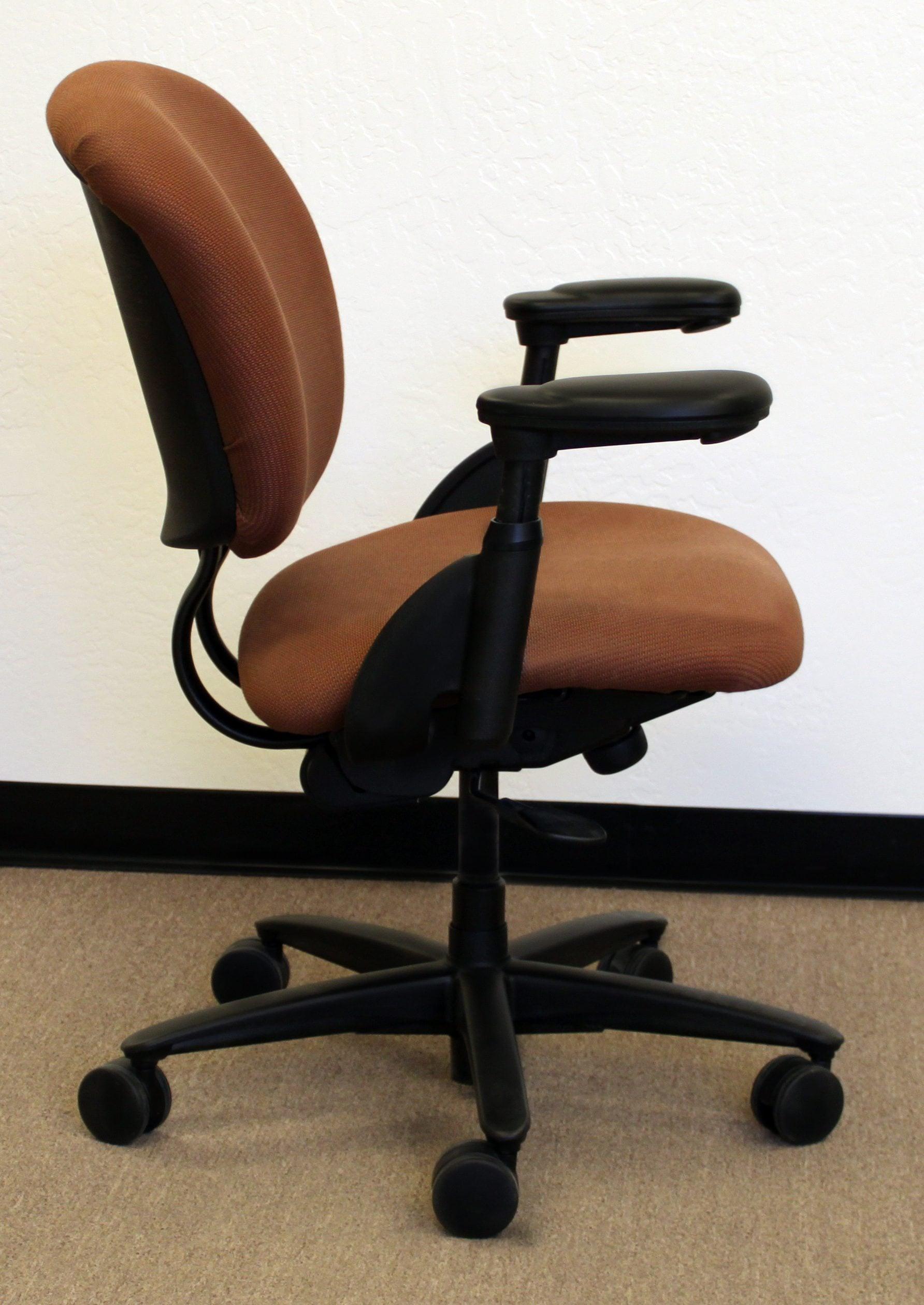 xl desk chair best feeding for infants haworth improv used task rust print national