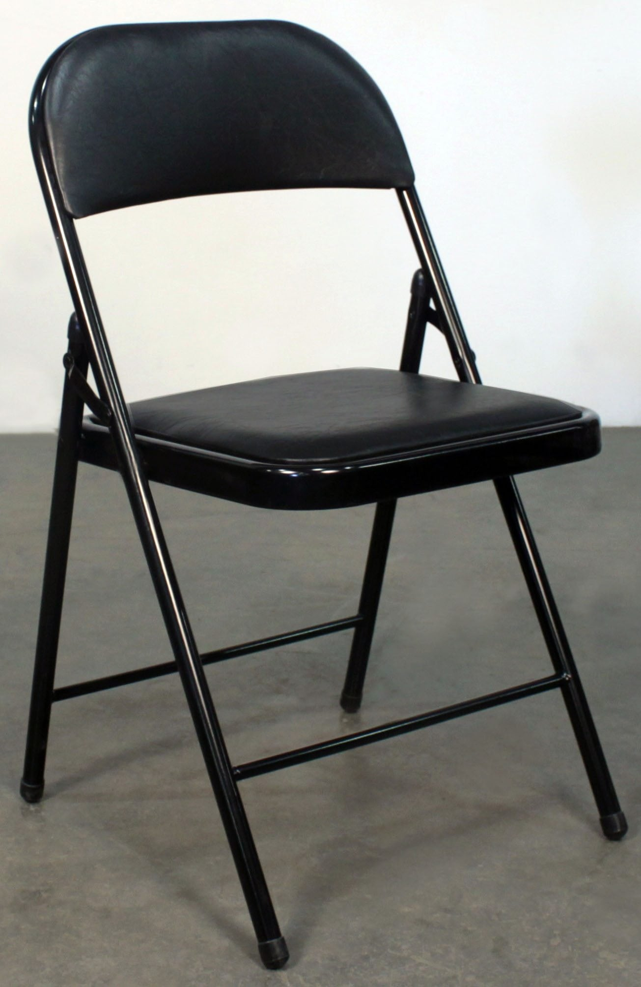 goSIT New Cushioned Folding Chair Black  National Office
