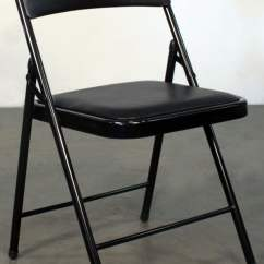 Folding Chair Liquidation White Outside Chairs Gosit New Cushioned Black National Office