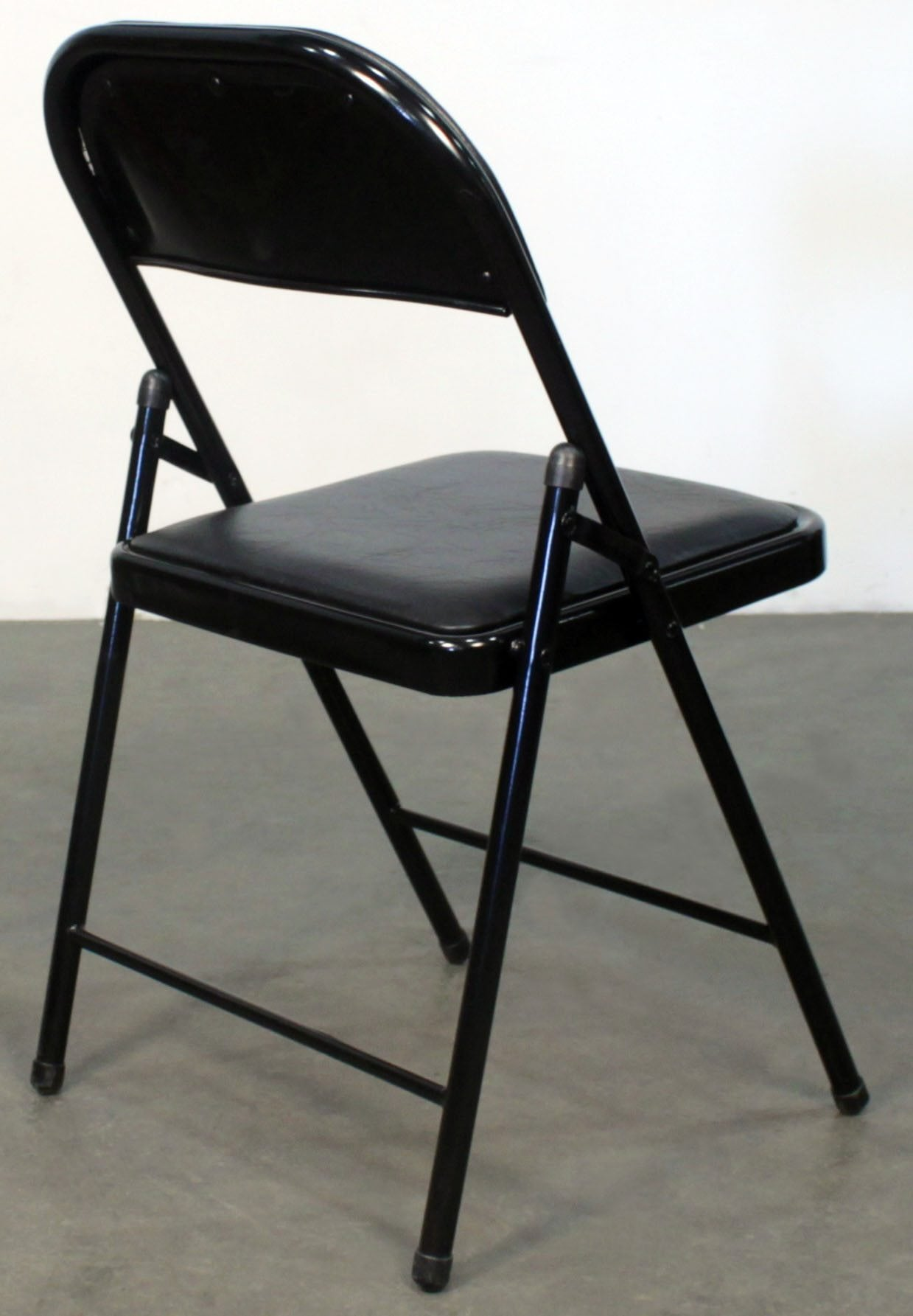 Black Folding Chairs Gosit New Cushioned Folding Chair Black National Office