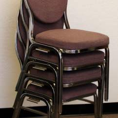 Upholstered Stacking Chairs Satin Chair Covers Virco Commercial Grade Used Stack Mauve