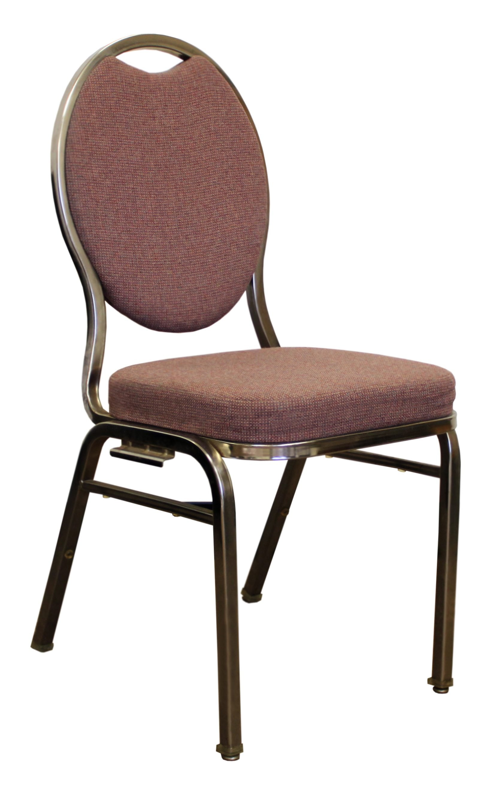 Virco Chairs Virco Commercial Grade Used Upholstered Stack Chair Mauve