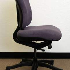 Knoll Rpm Chair Sinclair Club Used Ergonomic High Back Task Purple