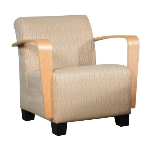 steelcase vintage chair a of collective noun turnstone jenny used lounge chair, creme