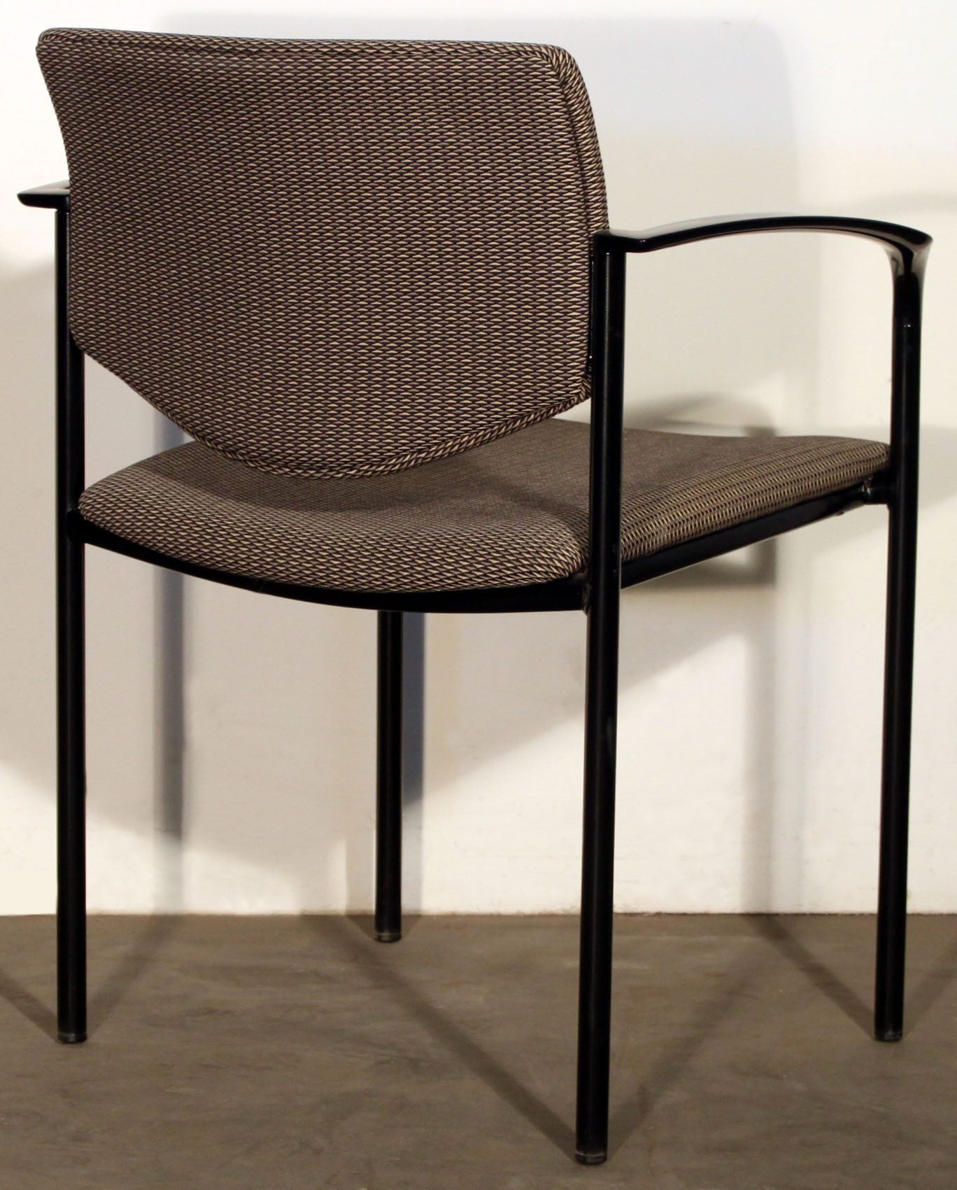 Steelcase Player Used Stackable Chair Brown and Tan