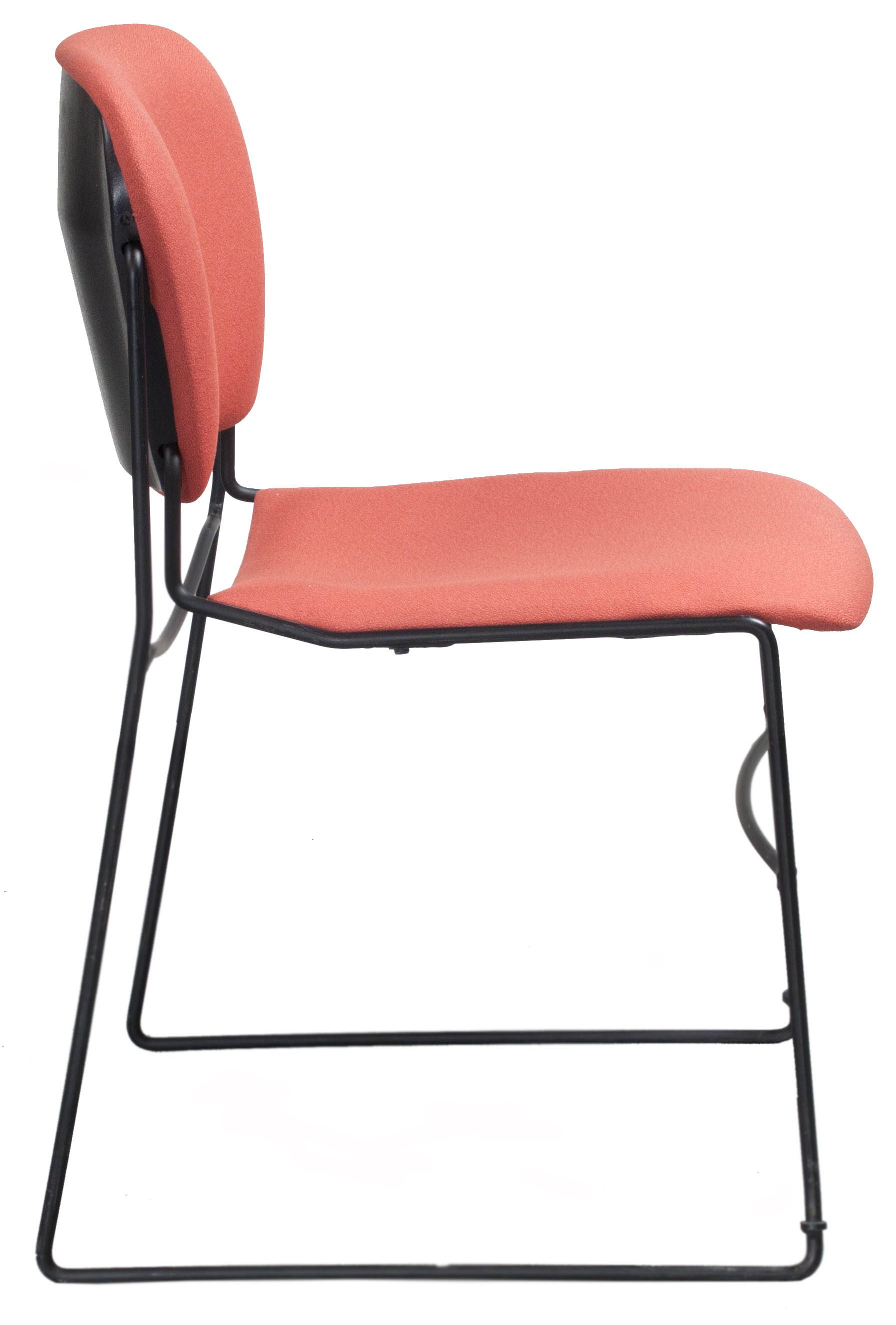 Coral Chair Ki Perry Used Stack Chair Coral National Office
