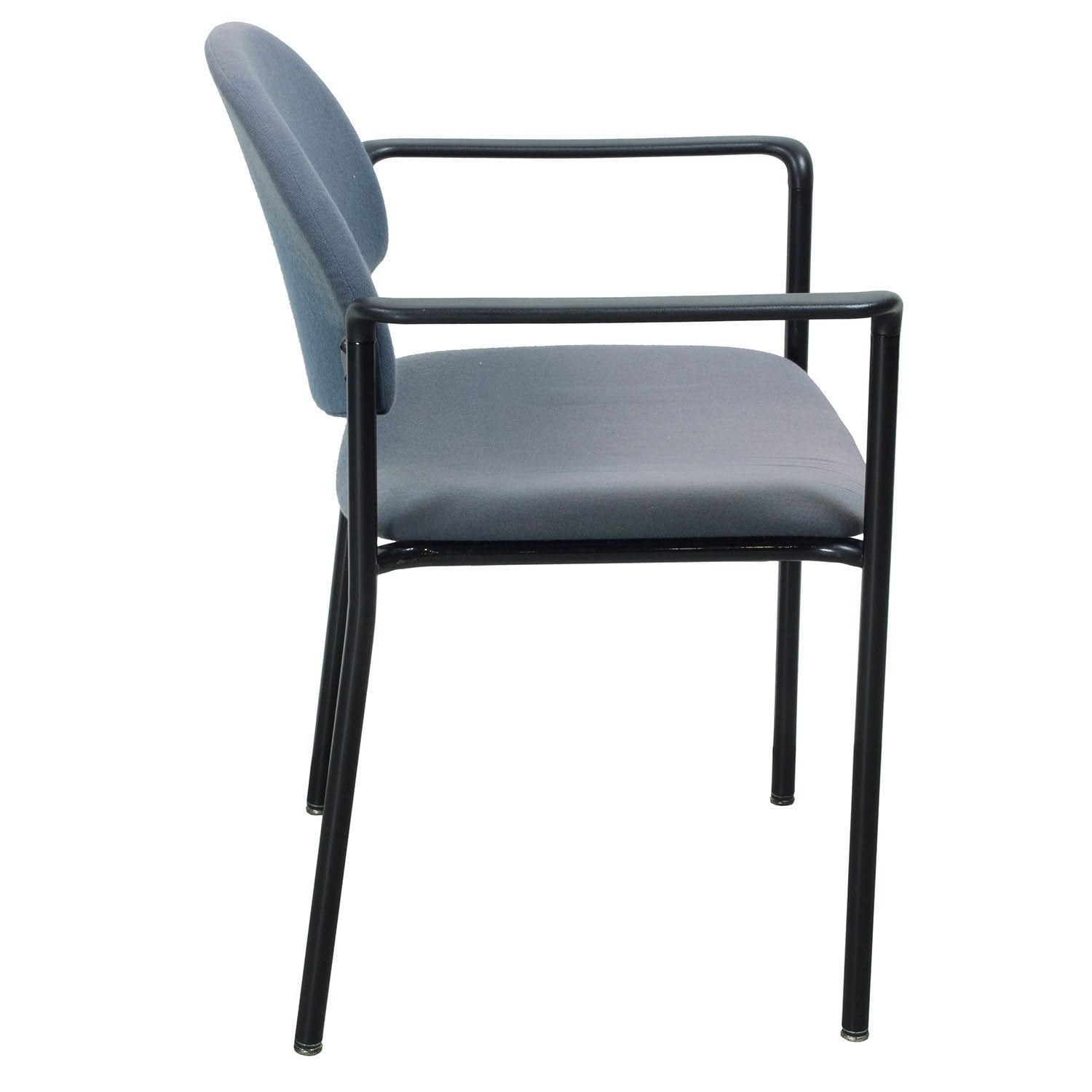 Ki Chairs Ki Versa Used Stack Chair Slate Blue National Office
