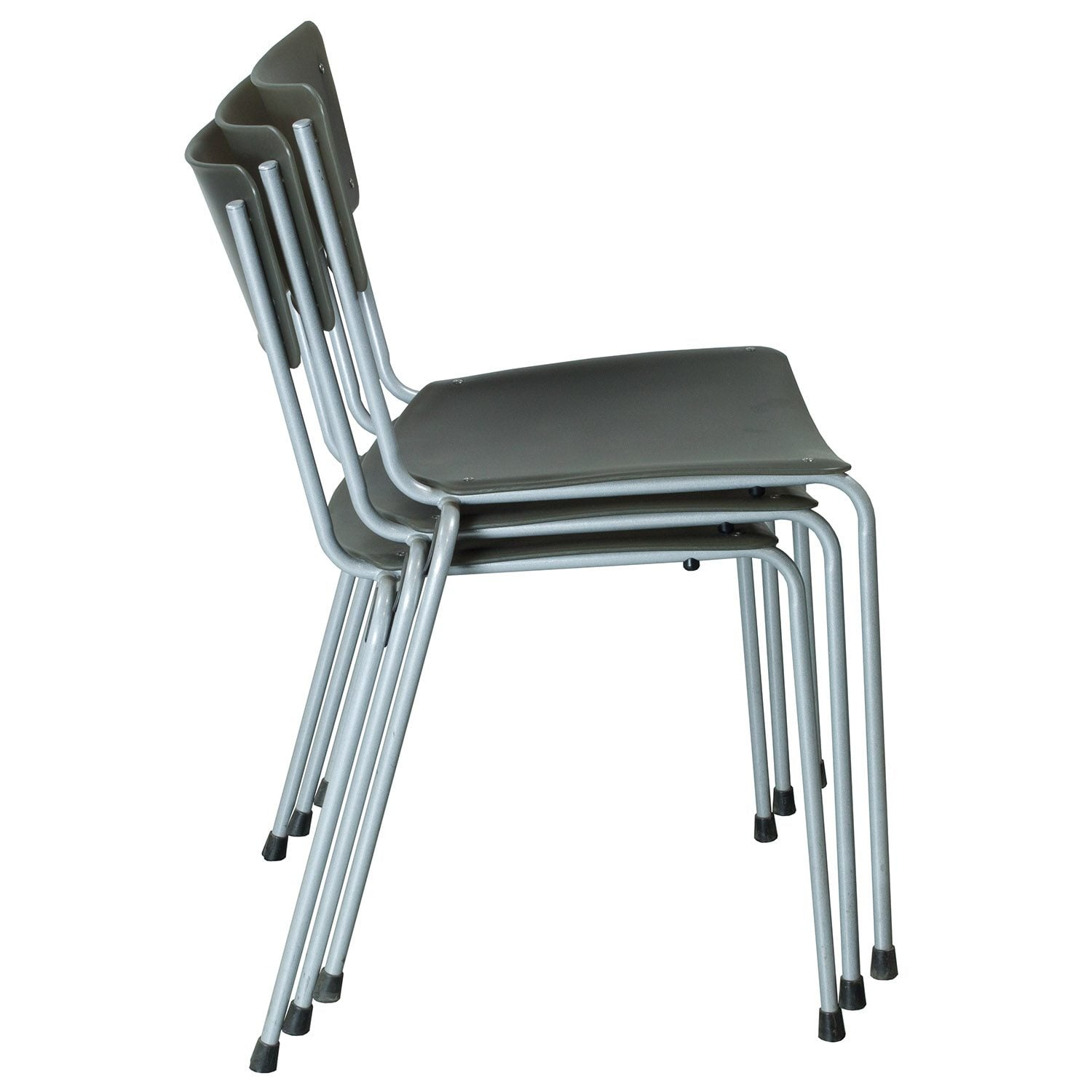 Keilhauer Gym Used Stackable Chair Gray  National Office