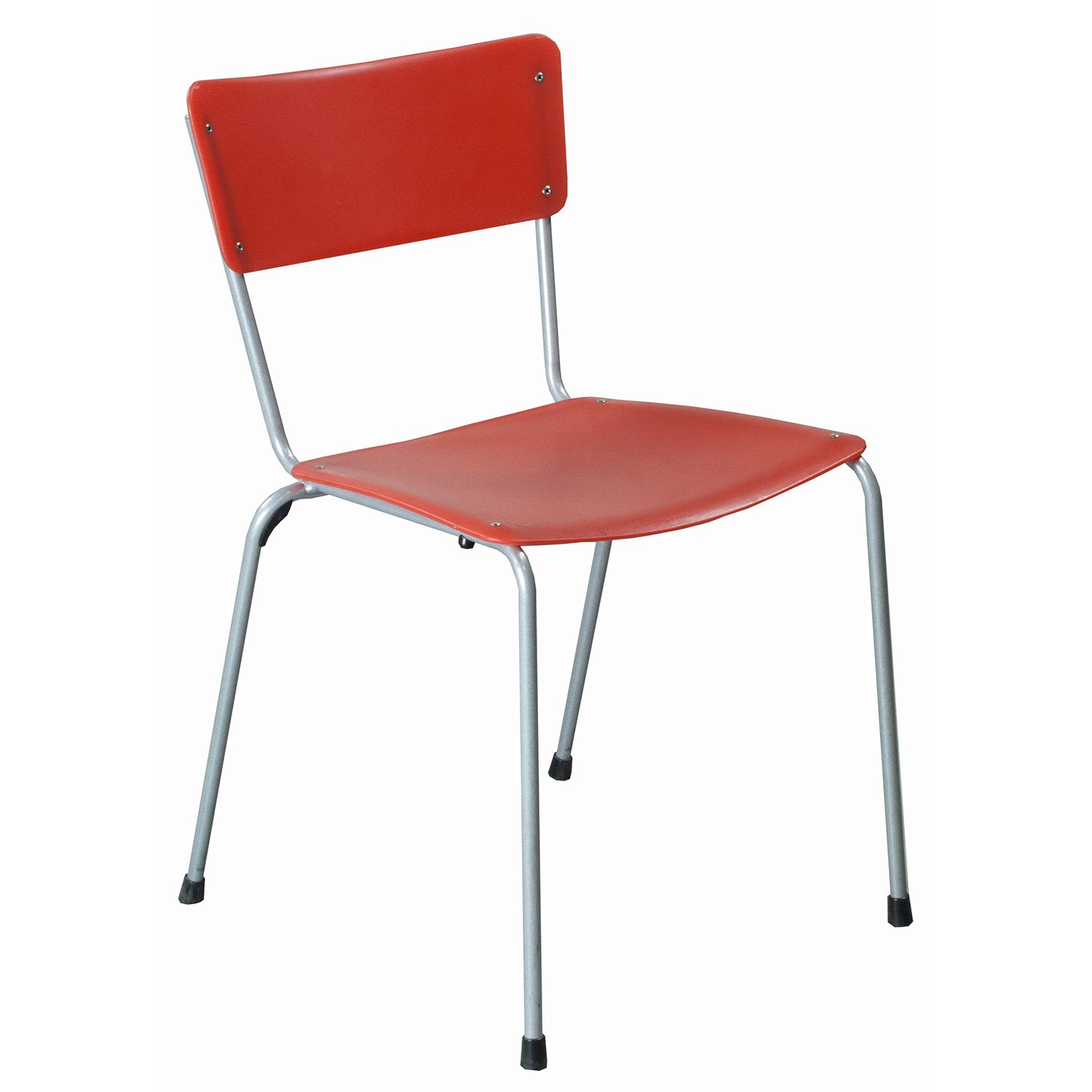 Keilhauer Gym Used Stack Chair Red  National Office