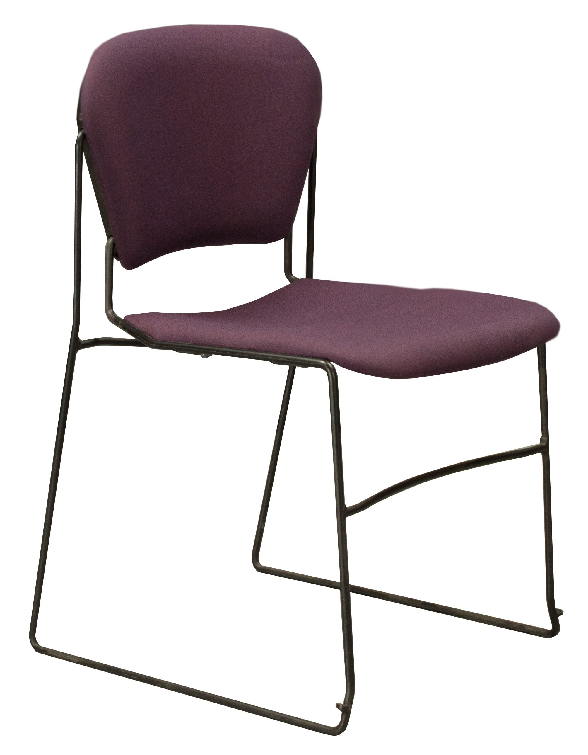 Ki Chairs Ki Perry Used Reupholstered Stack Chair Plum National