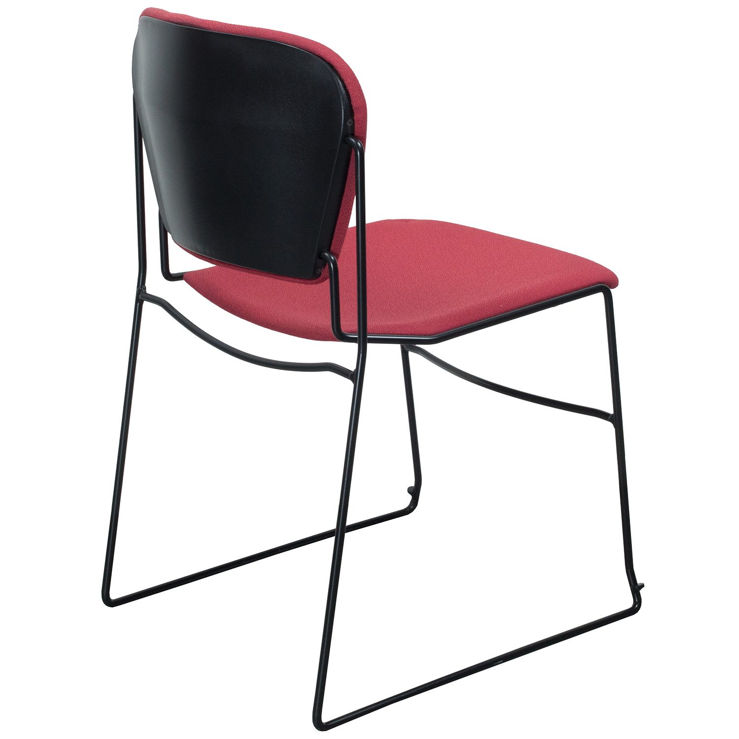 Ki Chairs Ki Reupholstered Perry Used Stack Chair Red National