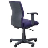 Knoll Bulldog Operational Used Task Chair, Purple