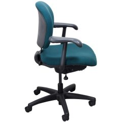 Aqua Desk Chair Dental Saddle Australia Knoll Parachute Used Task National Office