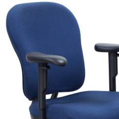 Knoll Rpm Chair Ikea Bar Covers Used Ergonomic High Back Task Blue