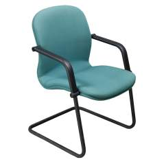 Aqua Desk Chair Bertoia Wire Original Knoll Reff Used Side National Office